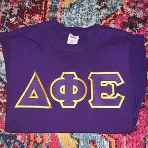 Delta Phi Epsilon Letters Shirt